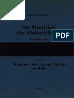 """L.Dv.4402/6"" Die Munition der Flakartillerie. Beschreibung. Teil 6"