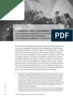 """A Window and a Basement"