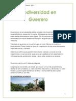 Biodiversidad en Guerrero