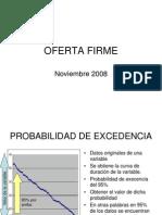 Oferta Firme Hidroelectricas