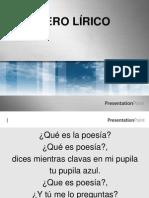 género lirico 2011