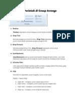 Page Layout Arrange