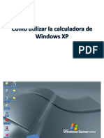 Como Utilizar La Calculadora de Windows XP Petter