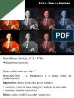 Aula 6 Hume e o Empirismo