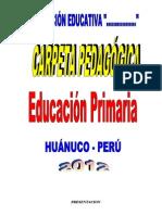 Carpeta Pedagógica (Ejemplar 4)