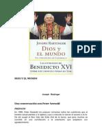 Dios y El Mundo - Joseph Ratzinger