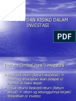 Return Dan Risiko
