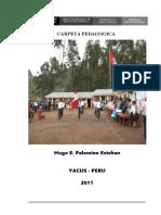 Carpeta Pedagógica (i.e. Daniel Alomía Robles - Yacus)