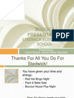 Budget Presentation April 16