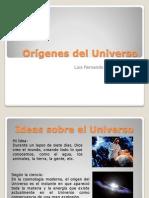 Los Orígenes Del Universo- Luis Fernando