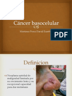 Cancer Basocelular y Epidermoide