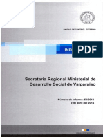 Informe Final 50-13 Secretaría Regional Ministerial de Desarrollo Social Sobre Auditoría de Programas y Ficha de Protección Social - Abril 2014 (1)