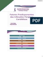 Aula Fatores Predisponentes e Micoses Oportunista- Candida (1)