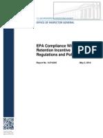EPA IG Report May 2, 2014