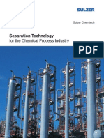Separation Technology for the Chemical Process Industry