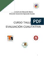 Curso-taller Evaluación Cualitativa