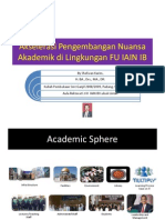 Akselerasi Pengembangan Nuansa Akademik Di Lingkungan FU IAIN IB