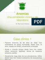 Anemiasunacorrelacionentreclinicaylaboratorio 130107105329 Phpapp02[1]