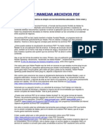 Como Ver y Manejar Archivos PDF