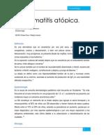 Dermatitis Atópica.