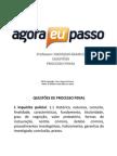 AEP TROPA de ELITE Processo Penal Questoes Emerson Branco