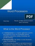 Word Processors 2009