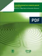 La Reforma Constitucional en Materia Penal. Jornadas de Justicia Penal SERGIO GARCIA