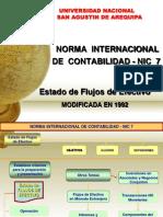 20131120, NIC 7 - Estado de Flujos de Efectivo