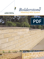 Bolder Stone Brochure