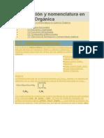 Formulación y Nomenclatura en Química Orgánica
