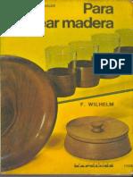 Tornear Madera