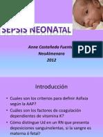 Sepsis Neonatal 2012
