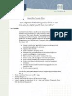 Brochure - Lean the Process Flow Profile