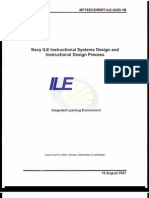 Navy ILE ISD Process 20070815