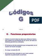 Codigos G