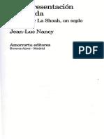 Jean-Luc Nancy] La Representación Prohibida(Bookos.org)