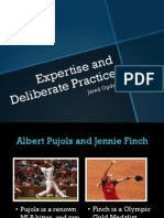 expertise and deliberate practice