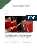 EZLN Impulsó Las Lenguas Indígenas