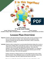 ed 285 - major lesson plan - power point