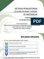 Pemetaan Pengaturan Pengelolaan Ruang Udara di Indonesia