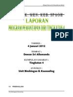 laporan Program Pemantapan Tingkatan 4