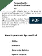 Residuos Liquidos Contaminacion Del Agua