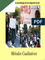 (5a)Metodos de Investigacion Social Cualitativos-Power Point