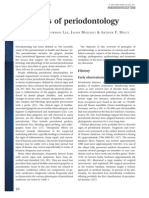 Principles of Periodontology