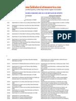 Especificaciones Aws de Metales de Aporte