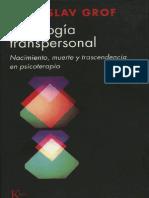 Psicologia Transpersonal -Stanislav Grof