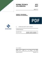 NTC 2037 - Arnes de seguridad.pdf