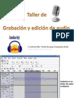 Taller de Audio 2º Año Acevedo- María