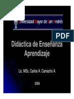 Didactica de Ensenanza y Aprendizaje