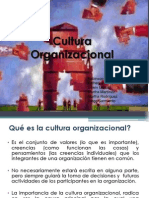 Cultura Organizacional Presentacion